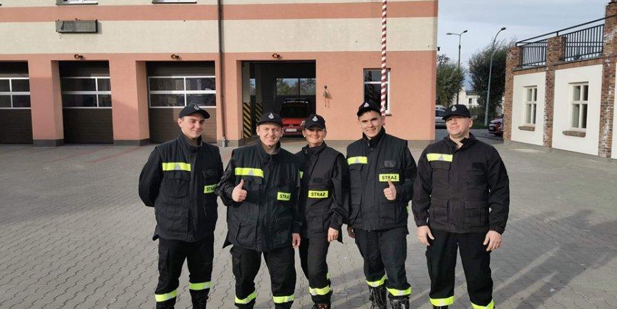 Zakończenie szkolenia podstawowego strażaków ratowników OSP - Jesień 2019