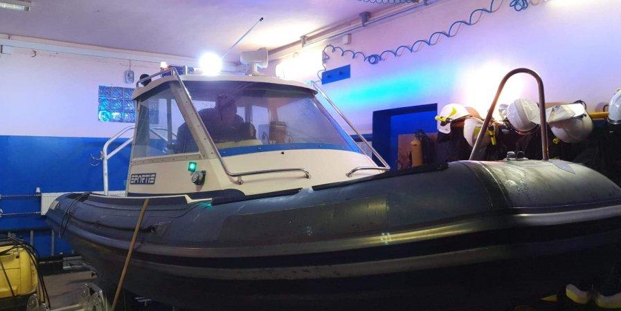 Zakończyliśmy remont łodzi patrolowo-ratowniczej.