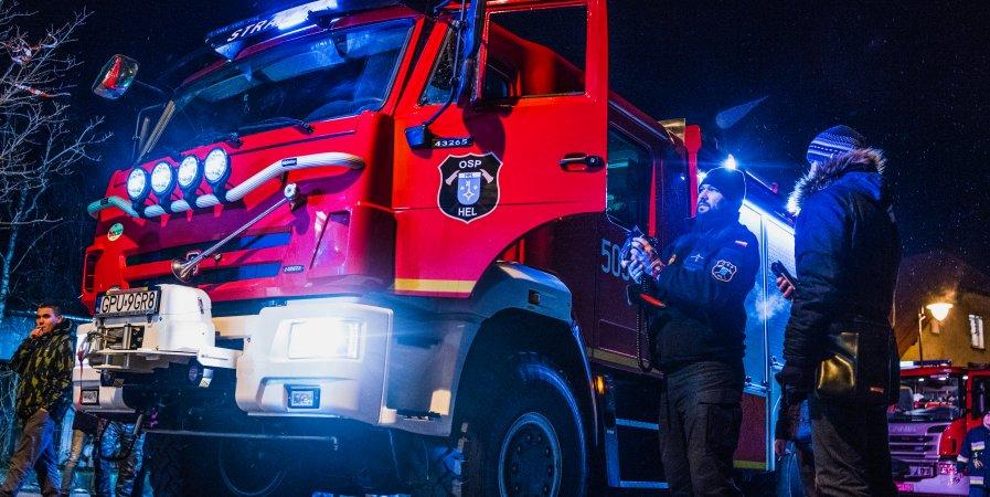 Uroczystość przekazania samochodu ratowniczo-gaśniczego dla naszej jednostki.