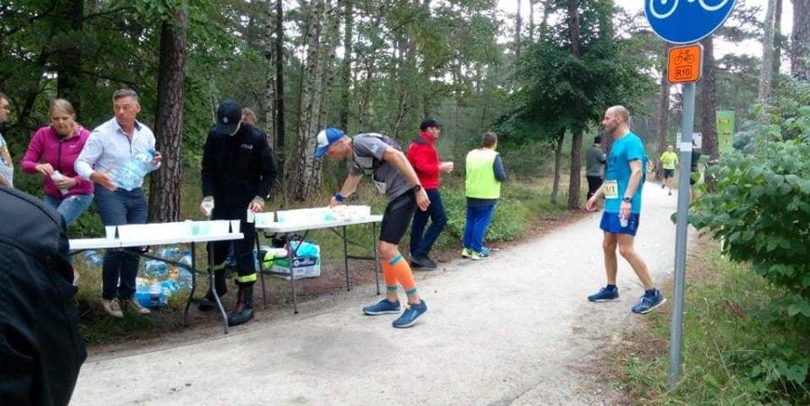 Zabezpieczenie VI Maratonu Północnego - Biegu Czterech Latarni, obsługa punktów żywnościowych