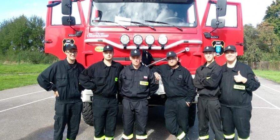 Kurs strażaków-ratowników Ochotniczych Straży Pożarnych 2021 r.
