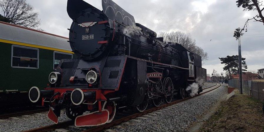 FOKA - pociągiem z parowozem na Hel!