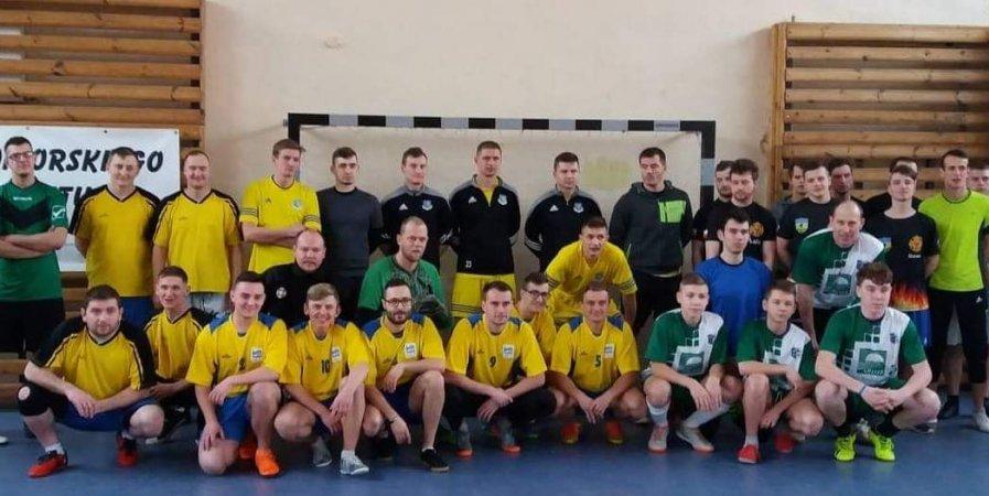 Mistrzostwa Województwa Pomorskiego w piłce nożnej Ochotniczych Straży Pożarnych.
