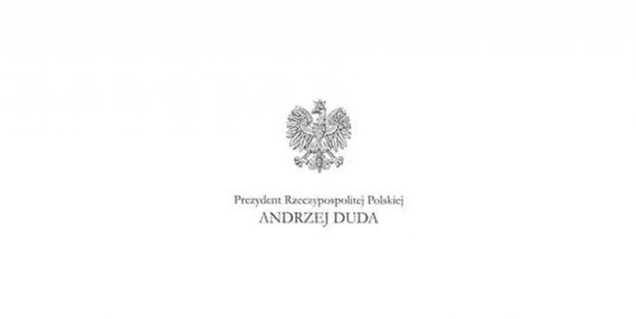 Życzenia z okazji Dnia Strażaka od Pana Prezydenta Rzeczypospolitej Polskiej Andrzeja Dudy