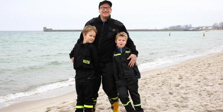 Z ojca na syna, oto strażacka rodzina!