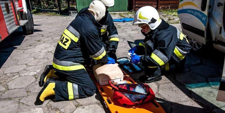 Dofinansowanie jednostek ochotniczych straży pożarnych.